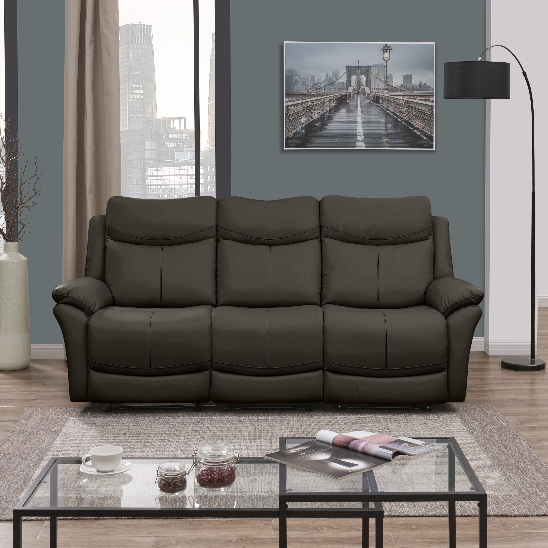 Red Barrel Studio Jabari 3 Seat Wall Hugger Reclining Sofa | Wayfair