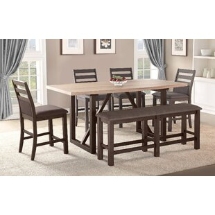 Clogh 6 Piece Pub Table Set Gracie Oaks