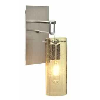 Ivy Bronx Abrego 1 Light Led Armed Sconce Wayfair