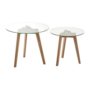 Flood 2 Piece Side Table Set (Set Of 2) By Norden Home