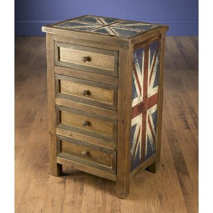 Kinzie 4 Drawer Chest by World Menagerie
