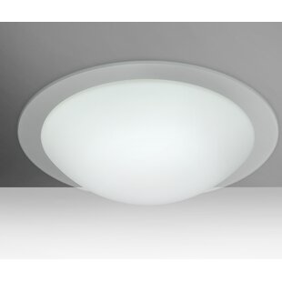 Besa Lighting Ring 2-Light Outdoor Flush Mount