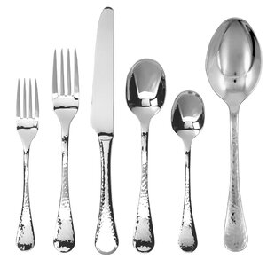 Lafayette 74 Piece Stainless Flatware Set, Service for 12