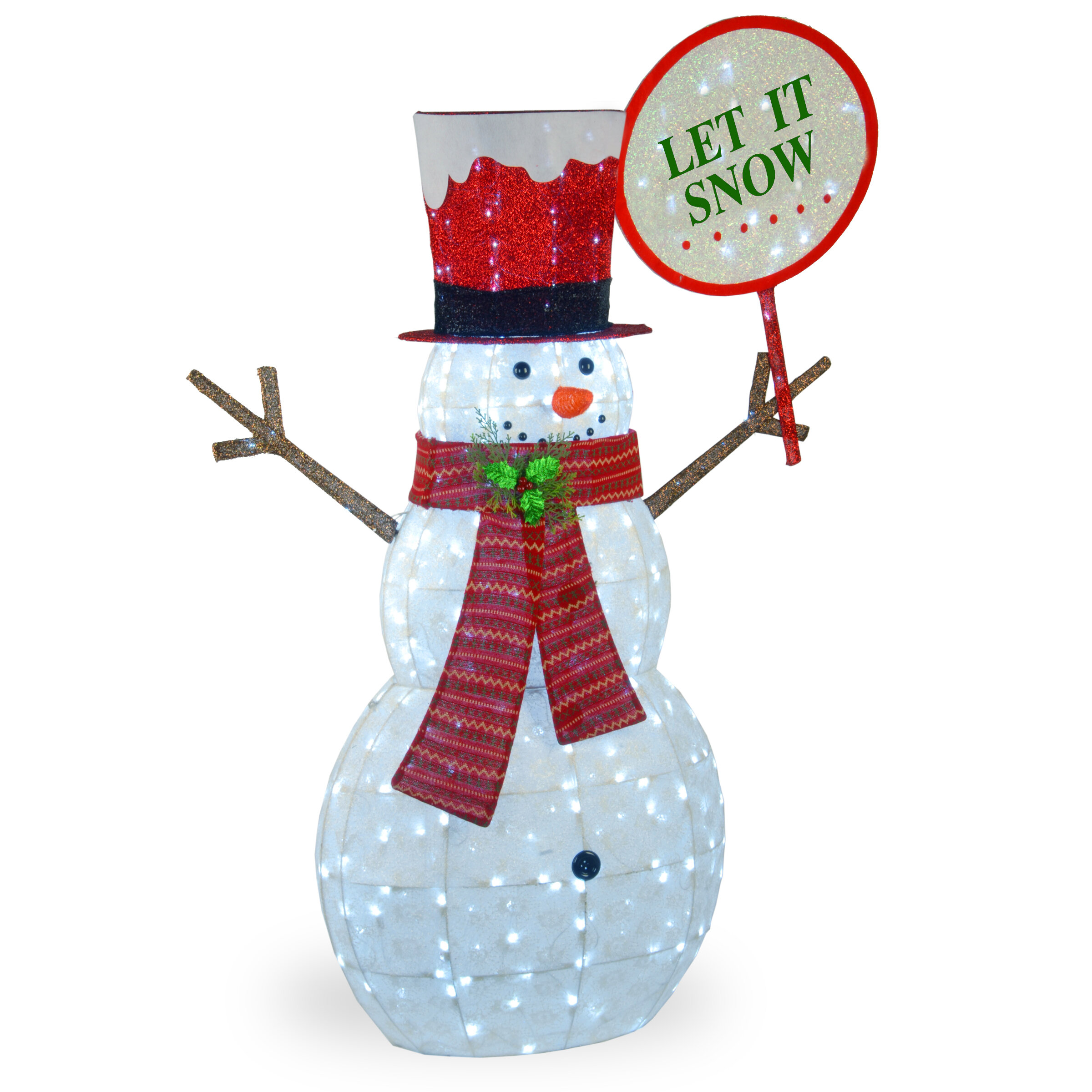 Snowman Decoration Lighted Display