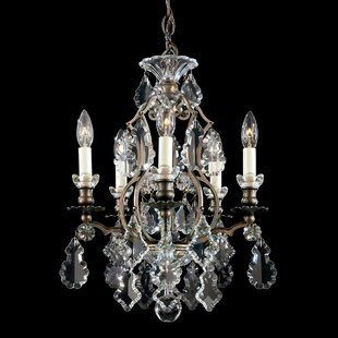 Schonbek Versailles 5-Light Candle Style Chandelier