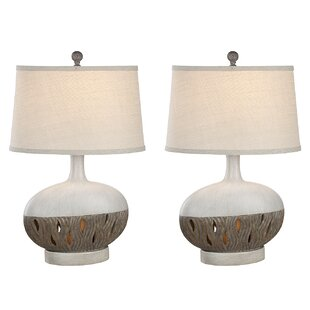 Resendez Transitional Coastal 26 Table Lamp (Set of 2)