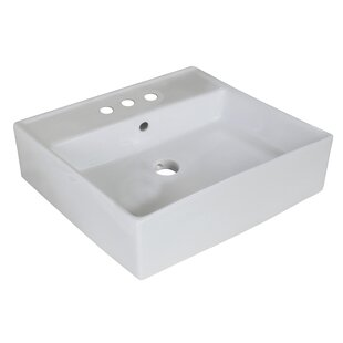 Compare Ceramic Square Vessel Bathroom Sink ByRoyal Purple Bath Kitchen