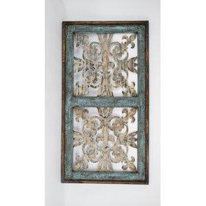 Architectural Wall Decor rustic window pane wall decor | wayfair