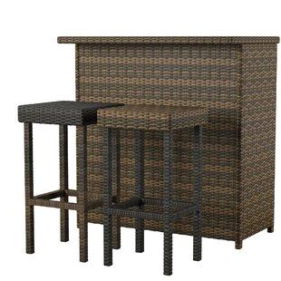 Belton 3 Piece Bar Set by Mercury Row
