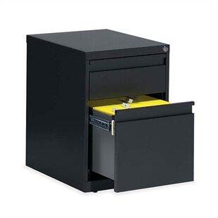 Global Total Office G Series 2-Drawer Box/File Pedestal