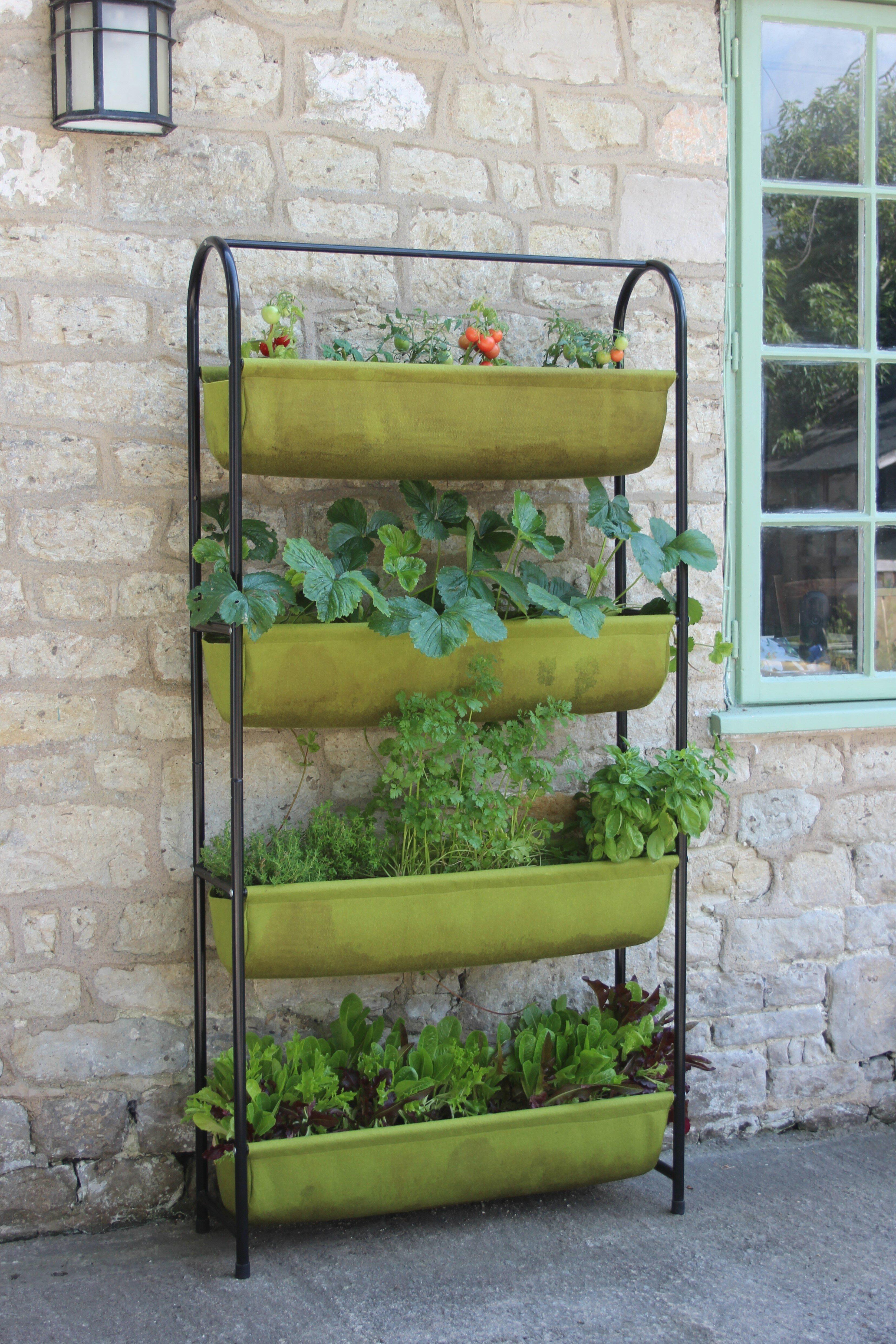 Arlmont Co Tabyana 2 5 Ft X 1 Ft Vertical Garden Reviews Wayfair