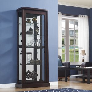 Boomerang Curio Cabinet by Classic Flame