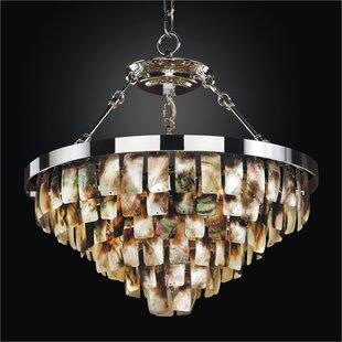 Glow Lighting Mailbu 6-Light Novelty Chandelier
