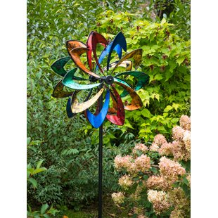 Urquhart Starlight LED Wind Spinner By Sol 72 Outdoor
