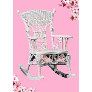 Victorian Millie Childu0027s Cotton Rocking Chair