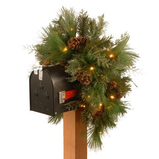Fresh Pine Mailbox Swag