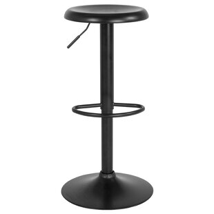 Decamp Adjustable Height Swivel Bar Stool..