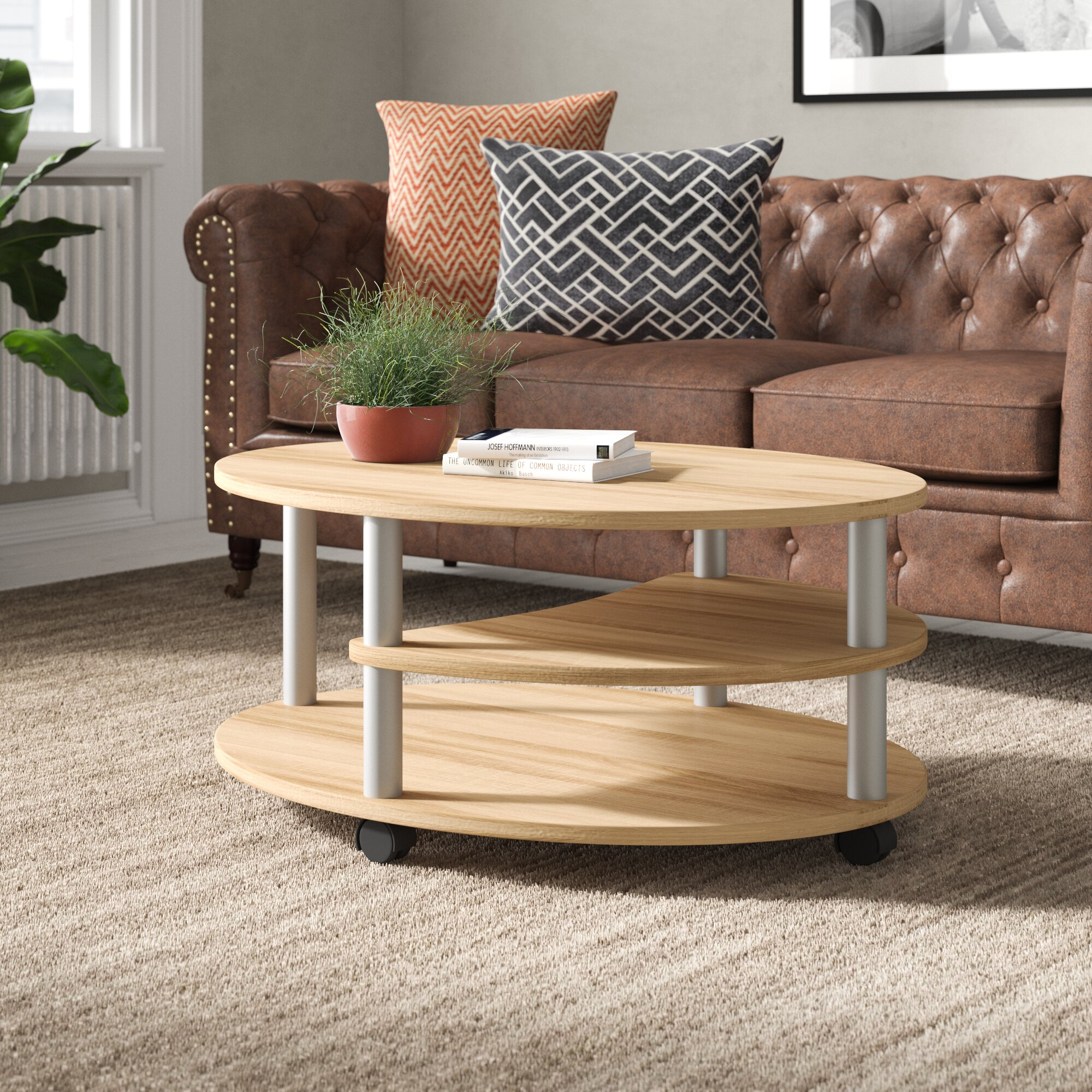 17 Stories Machesney Coffee Table With
