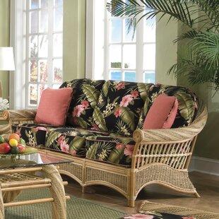 Spice Islands Wicker Maui Twist'' Sofa