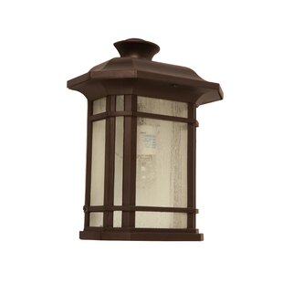 Inexpensive Mylinda 1-Light Outdoor Flush Mount By Bloomsbury Market