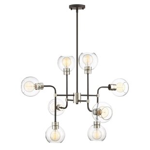 Brayden Studio Anglin 8-Light Shaded Chandelier