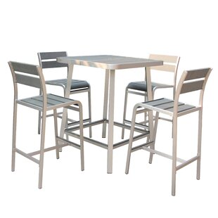 Brava 5 Piece Bar Height Dining Set