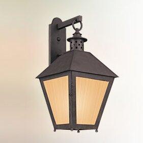 Longshore Tides Dinerstein 1-Light Outdoor Wall Lantern