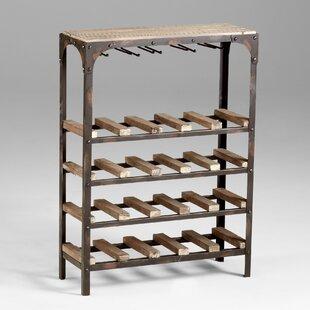 20 Bottle Floor Wine Rack by Cyan Design
