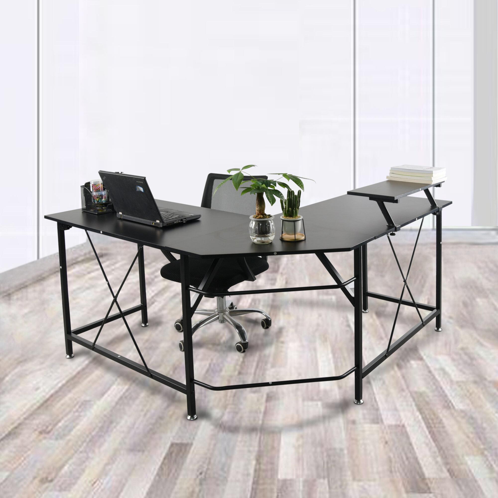 Latitude Run Deblaker L Shape Desk Wayfair