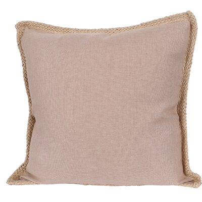 Breakwater Bay Aramantha Feathers Throw Pillow Colour: Sand
