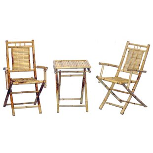 Bay Isle Home Karaman 3 Piece Bistro Set