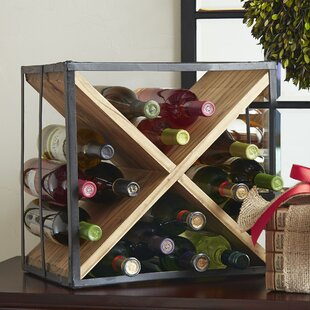 Mcgruder 16 Bottle Tabletop Wine Rack by Breakwater Bay