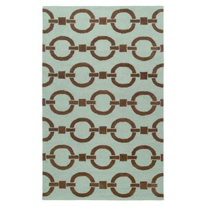 Sierra Hand-Tufted Blue Area Rug