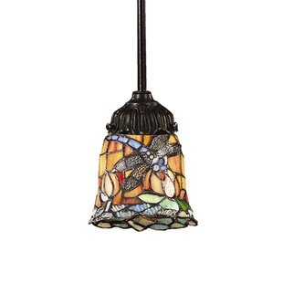Loomis 1-Light Bell Pendant by Astoria Grand