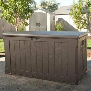 Plastic Deck Storage Box & Outdoor Patio Storage Box | Wayfair