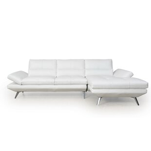 Moroni Bergen Full Leather Sectional