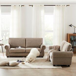 AlmedaCheatham 2 Piece Living Room Set (Set of 2) by Three Posts™
