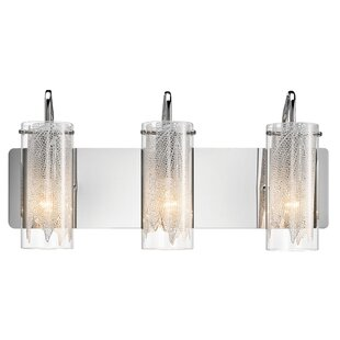 Great choice Hirth 3-Light Vanity Light By House of Hampton