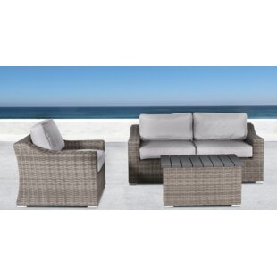 Huddleson 4 Piece Sectional Set with Cushions