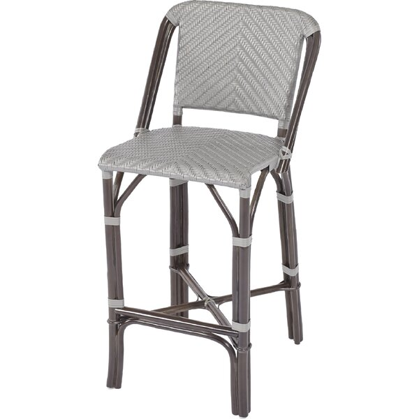 Awesome Barre Rattan Bar Stool