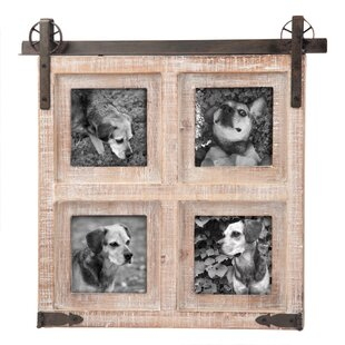 Barn door picture frame wayfair wilkerson barn door picture frame eventshaper