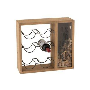 Suri 6 Bottle Wall Mounted Wine Rack By Symple Stuff