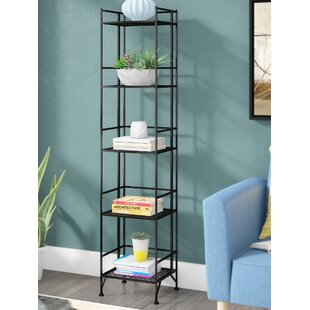 Aptos Etagere Bookcase by Ebern Designs Coupon