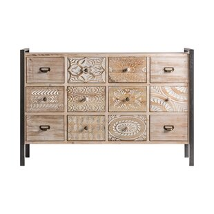 Fogel 12 Drawers Chest By Bloomsbury Market
