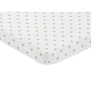 Celestial Star Mini Fitted Crib Sheet BySweet Jojo Designs