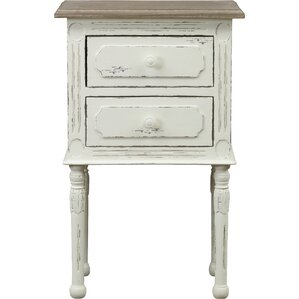 scothorn 2 drawer nightstand