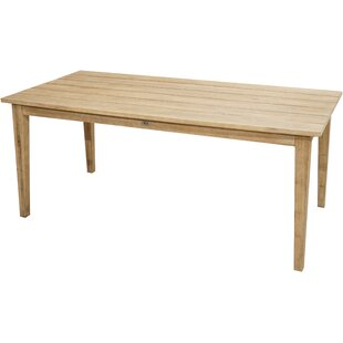 Bartleson Solid Wood Dining Table By Sol 72 Outdoor