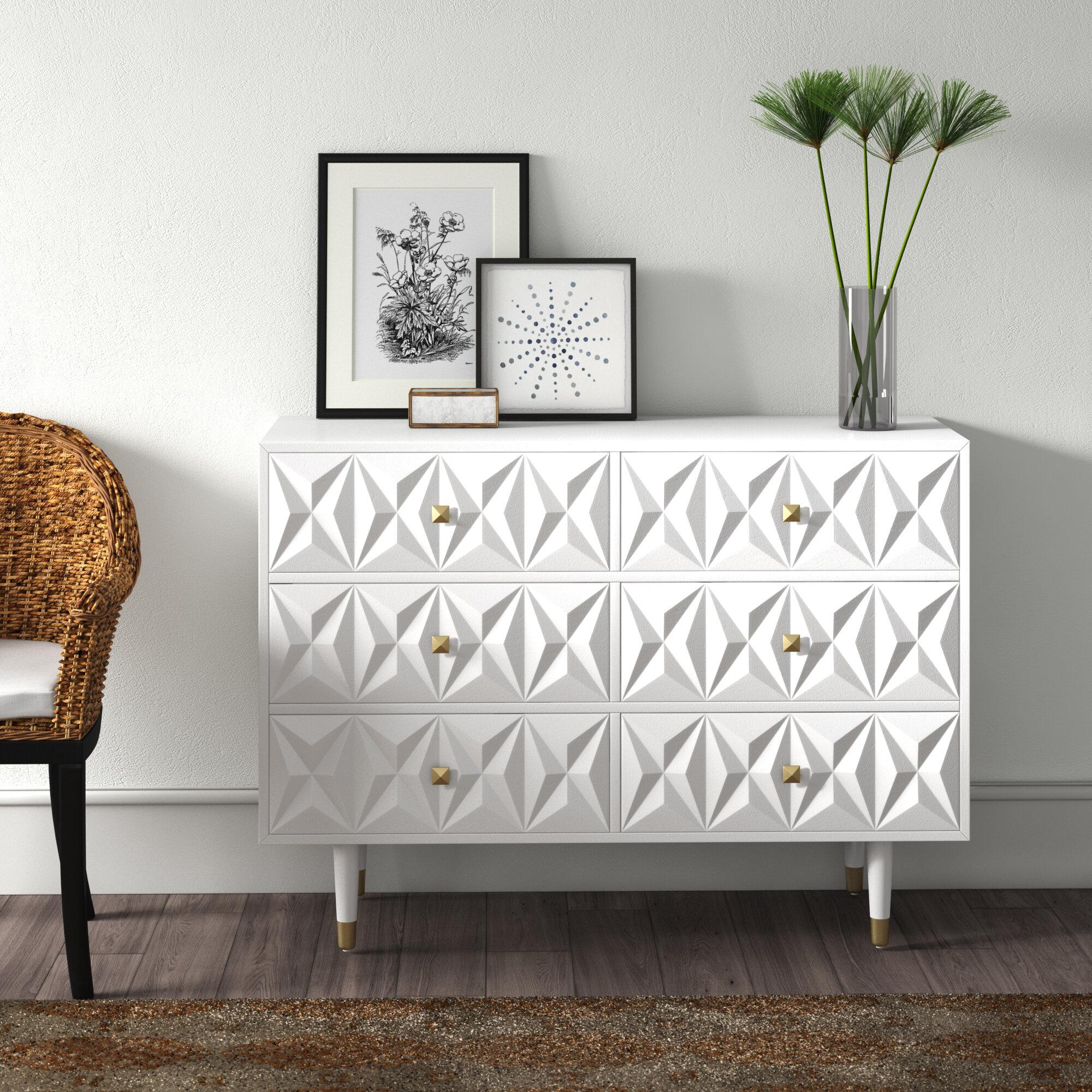 Morley 6 Drawer Double Dresser