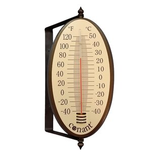 Oval Thermometer By Weems And Plath