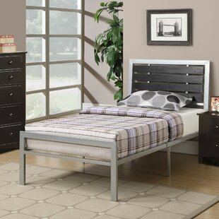 Winston Porter Paramore Metal Twin Panel Bed